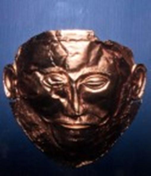 Nachbildung der Maske des Agamemnon